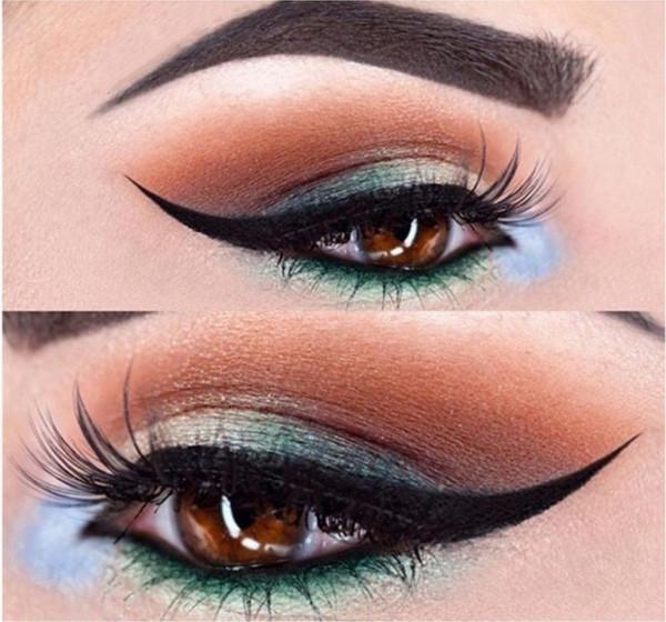 Poze Set Sablon Eyeliner + Sablon Smokey Eyes #01