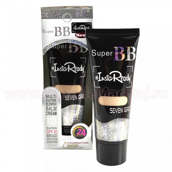 Poze Super BB Blemish Balm Cream InstaReady 24 hours #01 - Watterproof