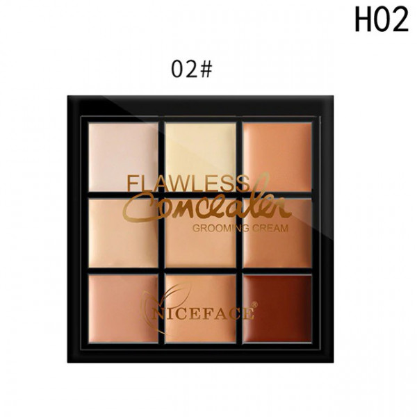 Poze Trusa Corector, Anticearcan, Concealer 9 culori #02 - Wearable Invisibility