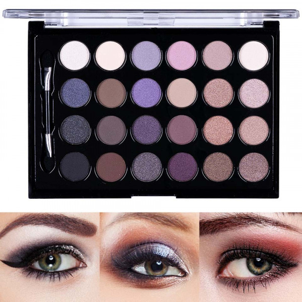 Poze Trusa Farduri 24 culori Eyeshadow Palette I Love Naked Nude Elements #01