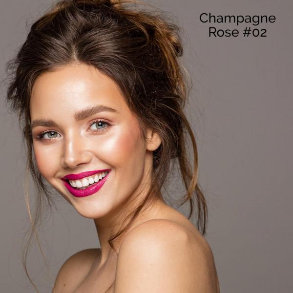 Poze Blush cu aplicator O.TWO.O Champagne Rose #02