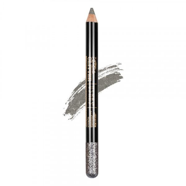 Poze Creion Colorat Contur Ochi cu Sclipici, Ushas Glittery Silver #09