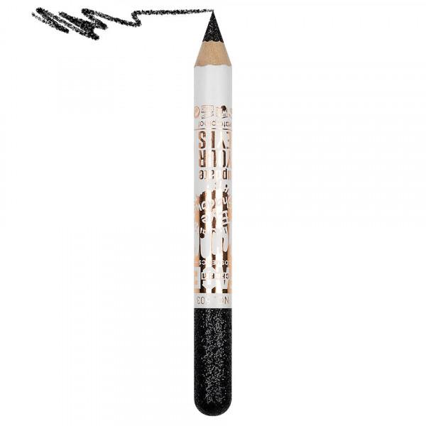 Poze Creion Contur Ochi Colorat cu Sclipici, Waterproof #503