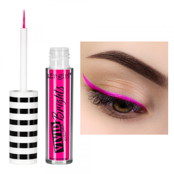 Poze Eyeliner Colorat S.F.R Girl Vivid Brights #11