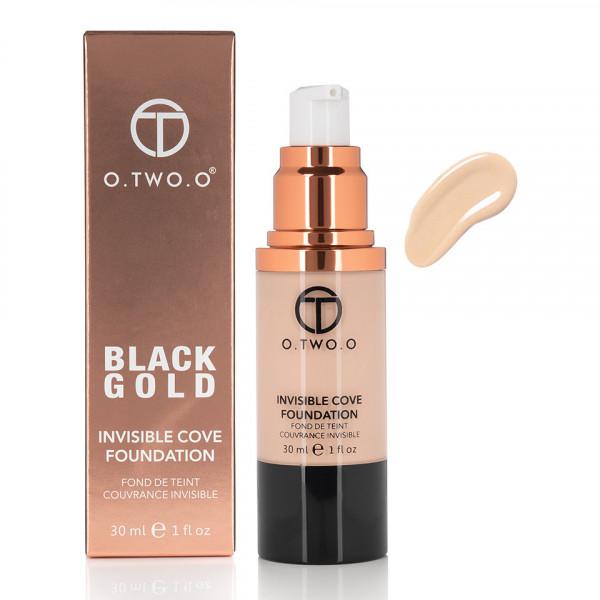 Poze Fond de Ten Invisible Foundation O.TWO.O - Buff, 30 ml