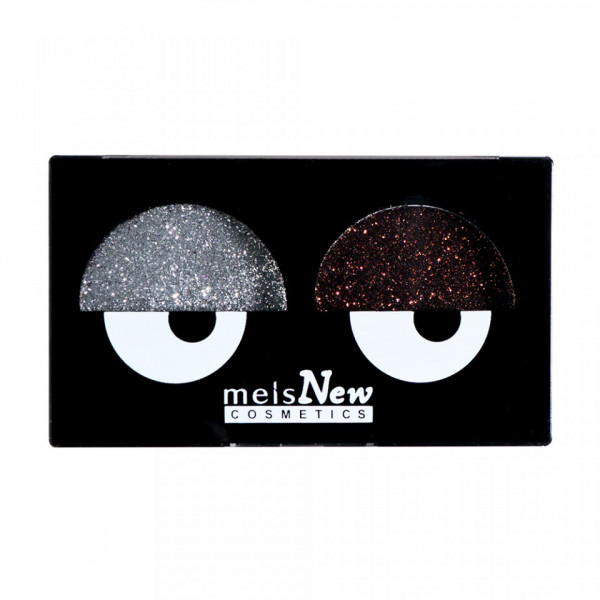 Poze Glitter Pulbere Silver & Brown