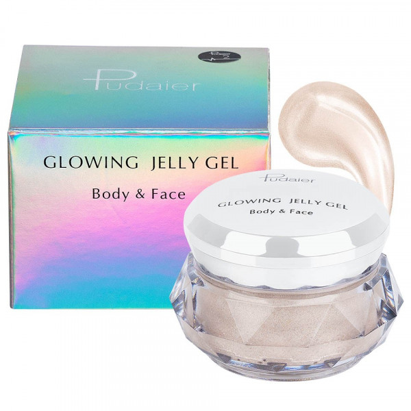 Poze Iluminator crema pentru fata si corp Pudaier Glowing Jelly #02