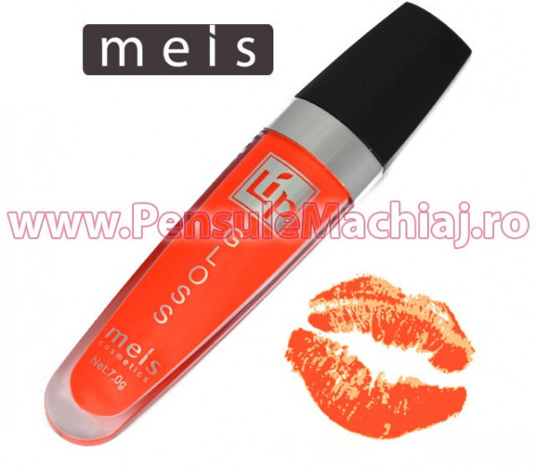 Poze Lip Gloss Mat - Tropic Orange #03