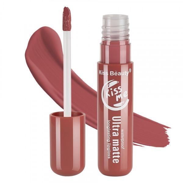 Poze Lipgloss Ultra Matte Kiss Beauty, Kiss Me #08