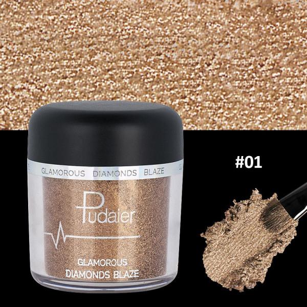 Poze Pigment Machiaj Ochi #01 Pudaier - Glamorous Diamonds
