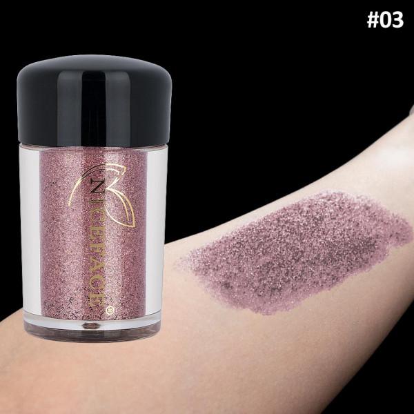 Poze Pigment Machiaj Ochi Niceface Pink Cream #03