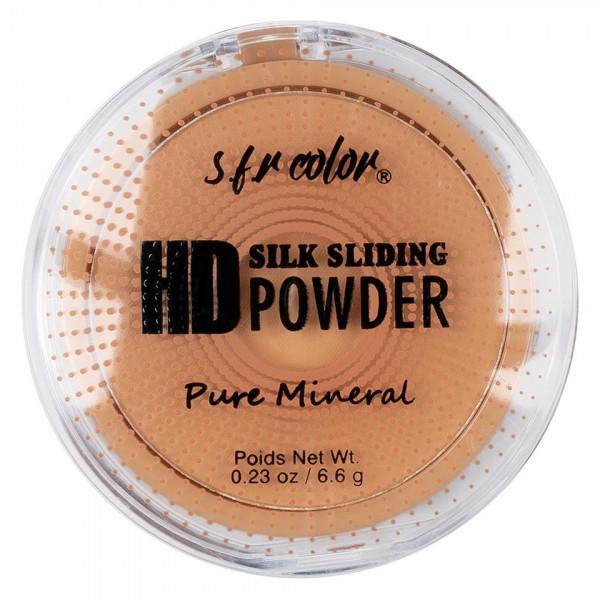 Poze Pudra Compacta Fixare Machiaj S.F.R. Color HD Pure Mineral #01