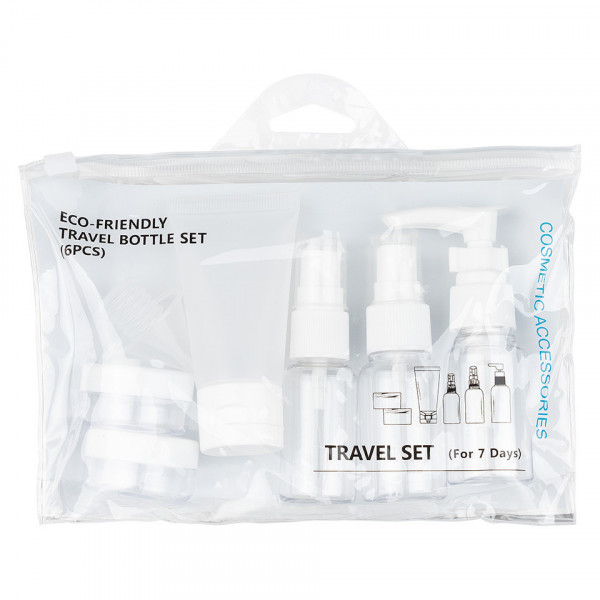 Poze Recipiente Calatorie Travel Adventure, set 6 buc - White