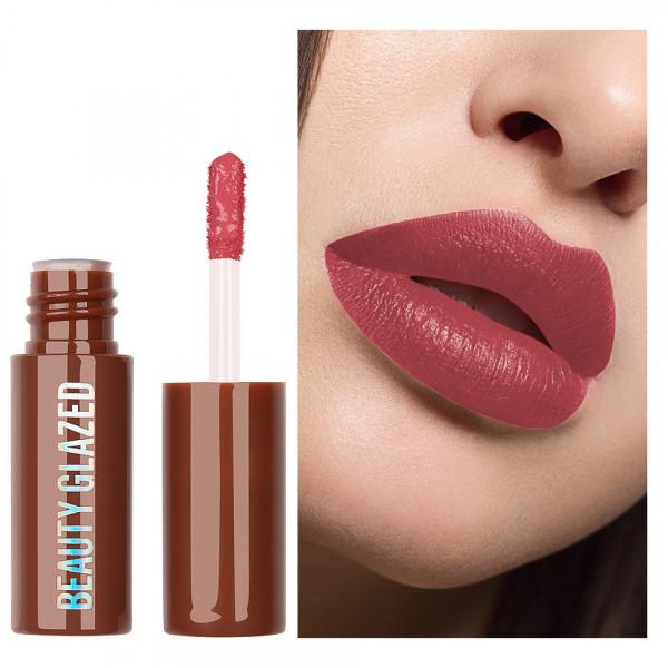 Poze Ruj lichid mat Beauty Glazed Chocolate Silky Lipgloss, Pale Mauve #101