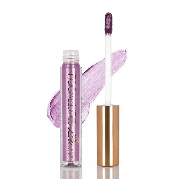 Poze Ruj metalic lichid mat Focallure Luxe Cloud Pink Blue #33