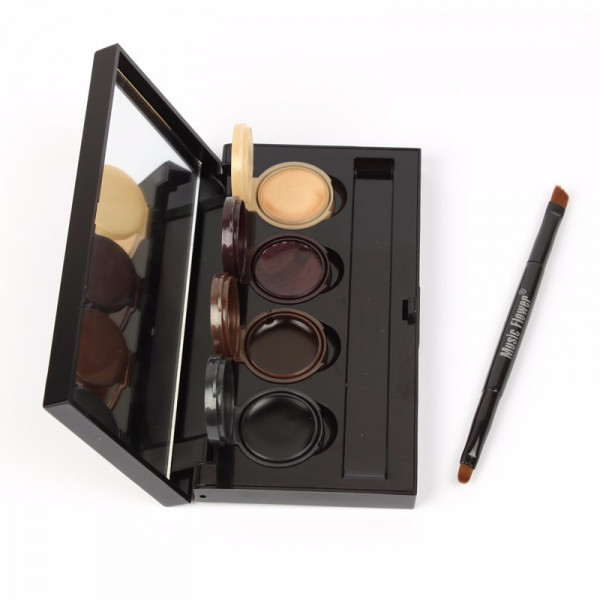 Poze Set Eyeliner - Eyeshadow Gel 4 culori Smoked Makeup #01
