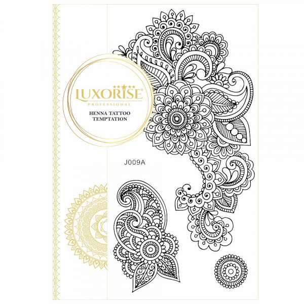 Poze Tatuaj Temporar LUXORISE Henna Temptation Details J009A