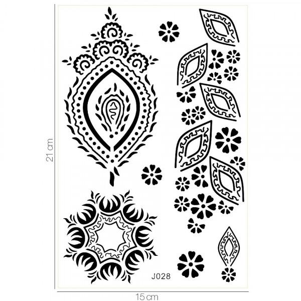 Poze Tatuaj Temporar LUXORISE Henna Temptation What's Your Tribe J028