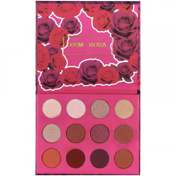 Poze Trusa Farduri 12 culori mate si sidefate Fem Rosa