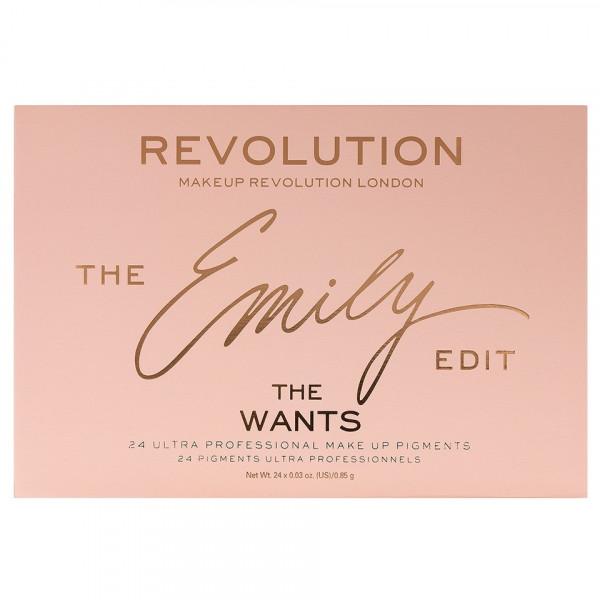 Poze Trusa Farduri MakeUp Revolution The Emily Edit