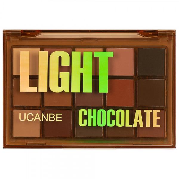 Poze Trusa Farduri UCANBE Light Chocolate