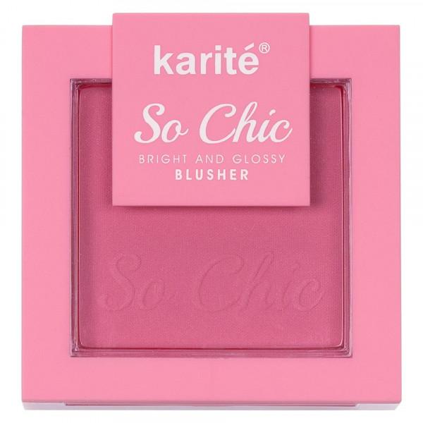 Poze Blush cu aplicator Karite So Chic #01