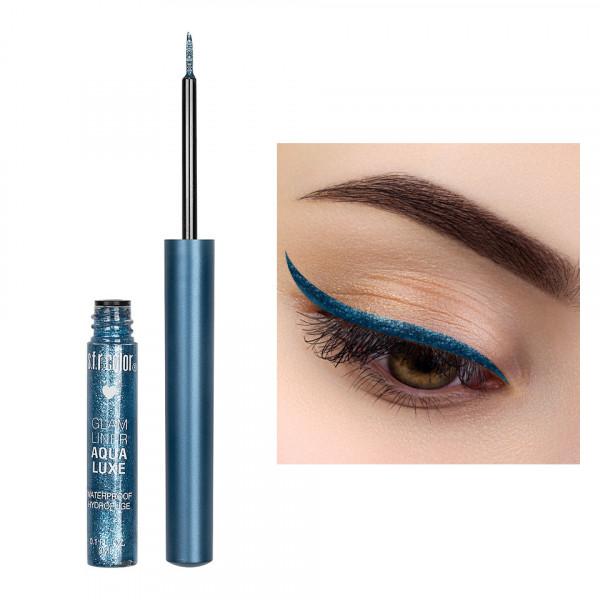Poze Eyeliner Colorat cu Sclipici S.F.R. Color Glam Waterproof #04