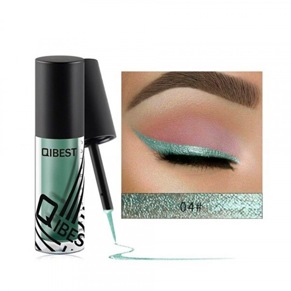 Poze Eyeliner colorat Qibest #04 Blue Cosmos