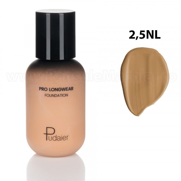 Poze Fond de Ten Pudaier Lasting Makeup Foundation 2.5NL