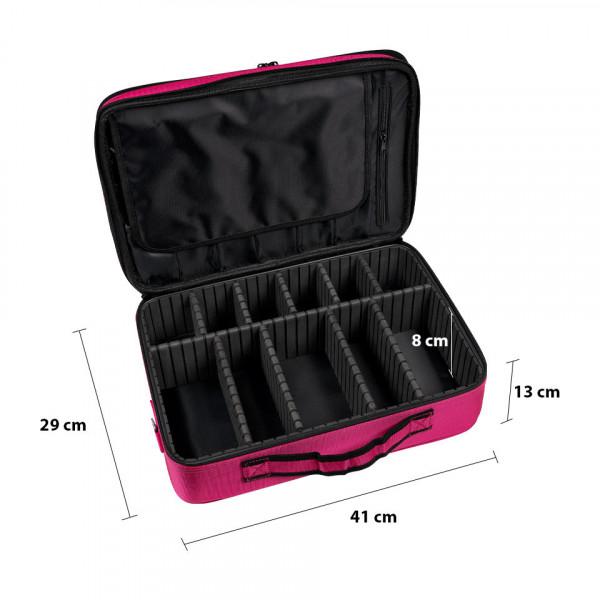 Poze Geanta Produse Cosmetice Pink Travel Make-Up Case
