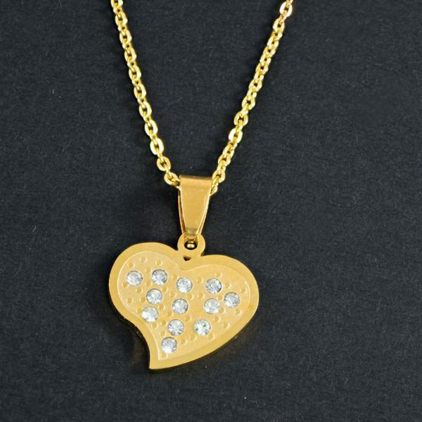 Poze Lantisor Inox cu Medalion - Be Sweet