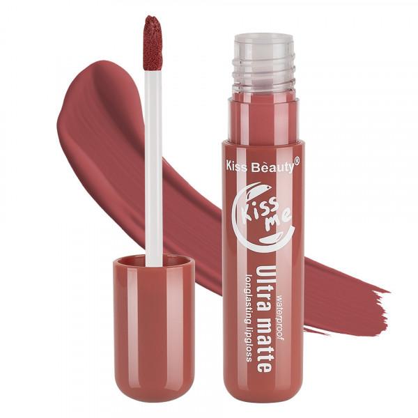 Poze Lipgloss Ultra Matte Kiss Beauty, Kiss Me #03