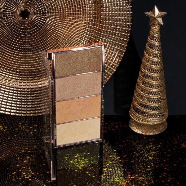 Poze Paleta Iluminator MakeUp Revolution Vintage Lace #02
