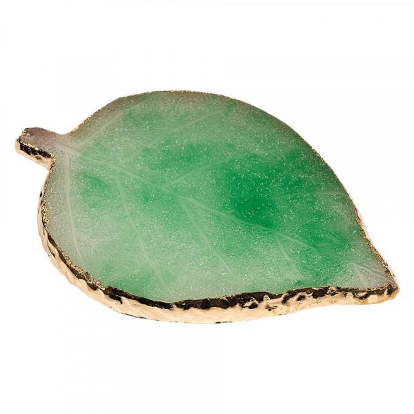 Poze Paleta Mixare Fond de Ten si Adeziv Jad, Green Leaf