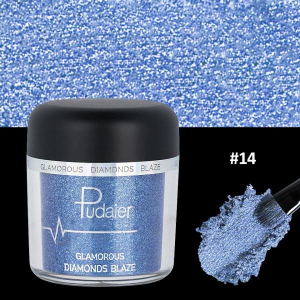 Poze Pigment Machiaj Ochi #14 Pudaier - Glamorous Diamonds