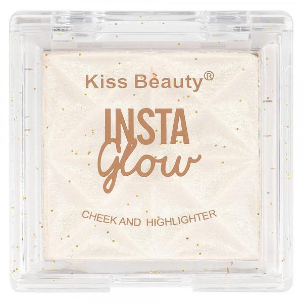 Poze Pudra Iluminatoare Kiss Beauty Insta Glow #01