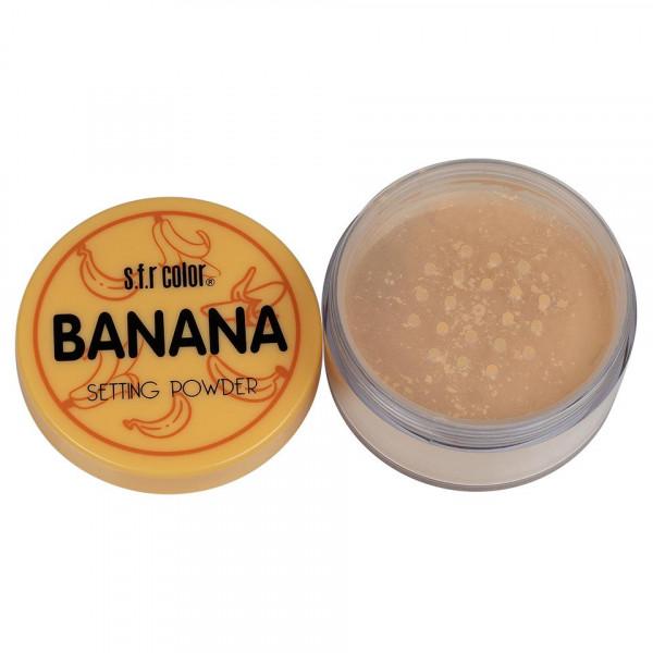 Poze Pudra Pulbere Matifianta S.F.R Color Banana 1+1 Gratuit