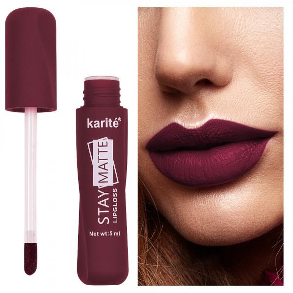 Poze Ruj lichid mat Karite Stay Matte Lipgloss #11