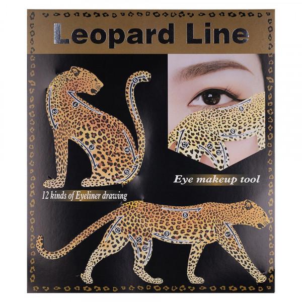 Poze Sabloane Machiaj Leopard Line
