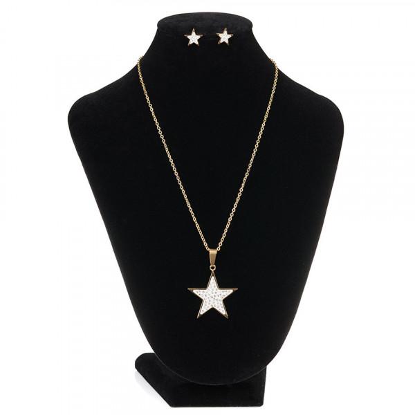 Poze Set Bijuterii Inox SuperStar