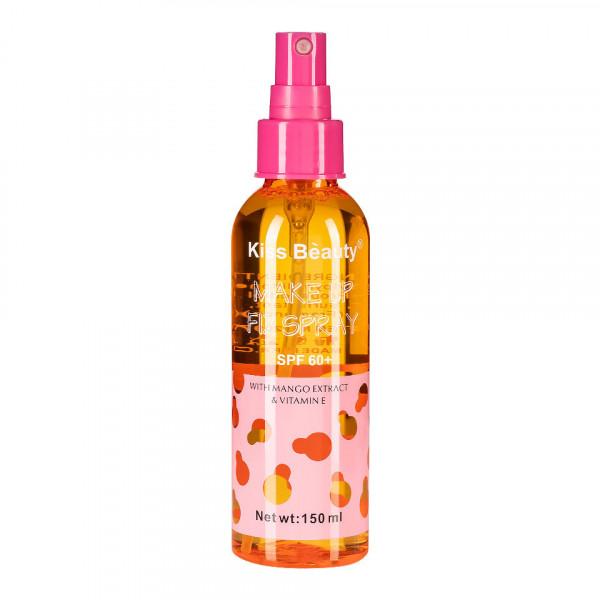 Poze Spray Fixare Machiaj Kiss Beauty cu Extract de Mango SPF 60, 150ml