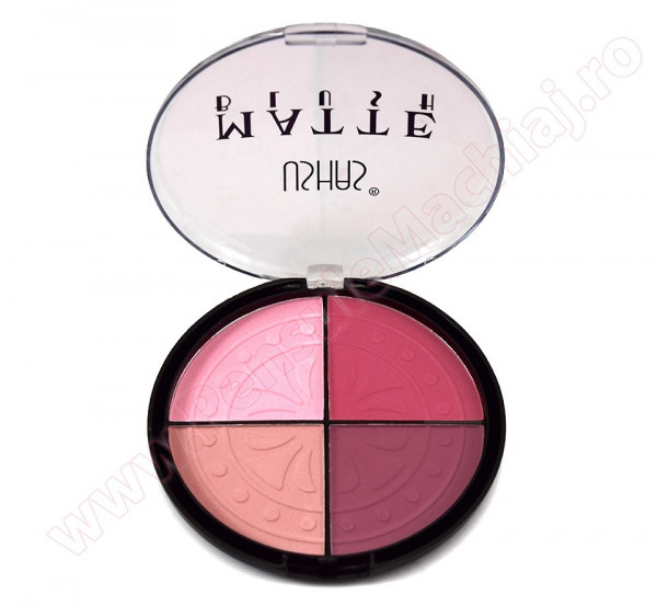 Poze Trusa Blush 4 nuante mate #01 - Vibrant Colors Blush