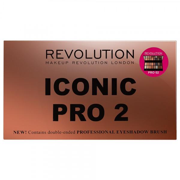 Poze Trusa Farduri MakeUp Revolution Iconic Pro 2 Palette