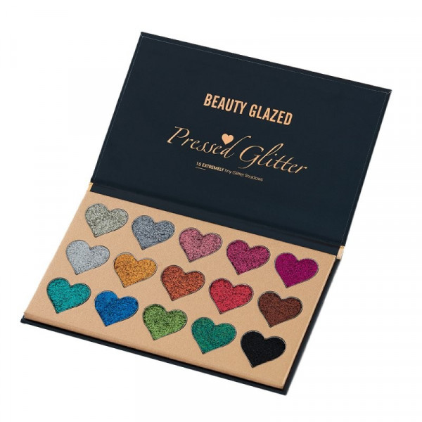 Poze Trusa Glitter Ochi Beauty Glazed Shiny Hearts