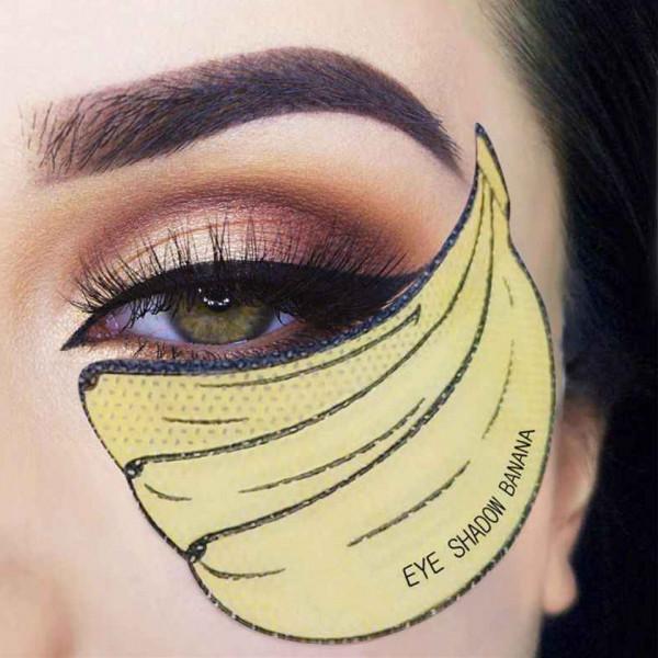 Poze Benzi Protectie Machiaj Flawless Smokey Eyes - set 10 Bucati