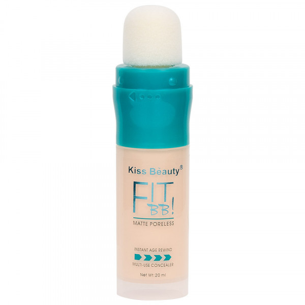 Poze Concealer Lichid Kiss Beauty Fit BB #02