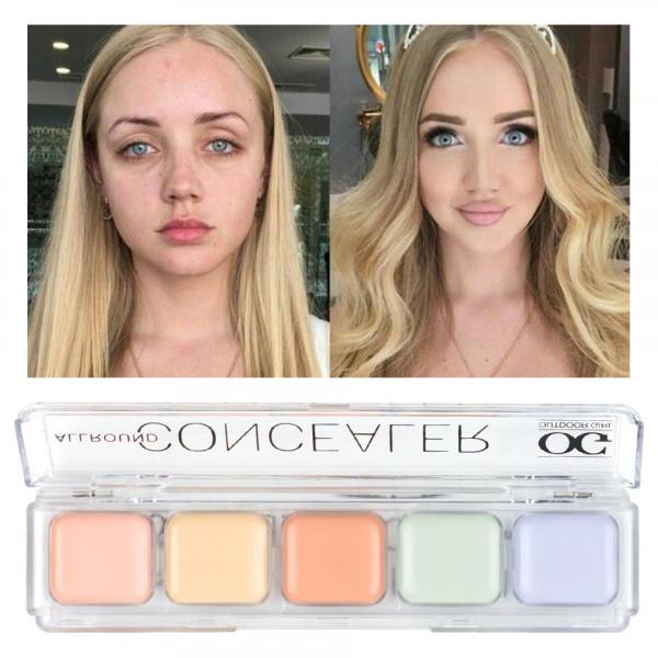 Poze Corector, Anticearcan, Concealer 5 culori Outdoor Girl 03