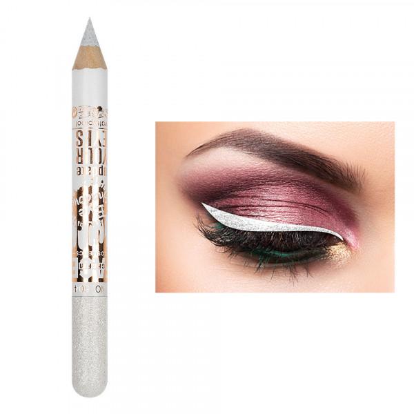 Poze Creion Contur Ochi Colorat cu Sclipici, Waterproof #504
