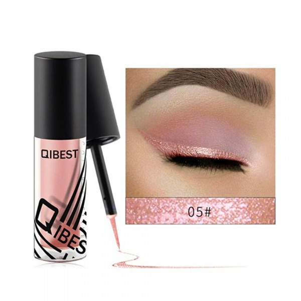 Poze Eyeliner colorat Qibest #05 Later crater