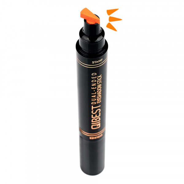 Poze Eyeliner Colorat tip Carioca cu Stampila Ochi, Qibest Mirage Orange #07